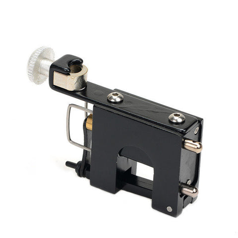 Black M100 Motor Tattoo Machine Equipment High Stability 25000-30000 R/Minute Zinc Alloy