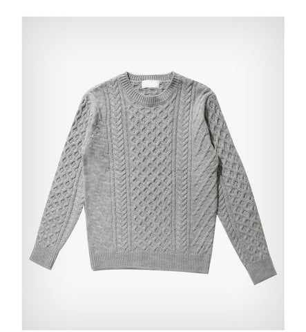 Men's Sweaters Hedging Leisure Round neck sweater