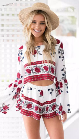 Print Two Piece Set