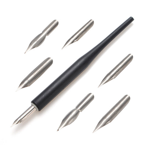 Nail Art Design Flower Salon Painting Line Drawing Pen 5 Style Metal Heads