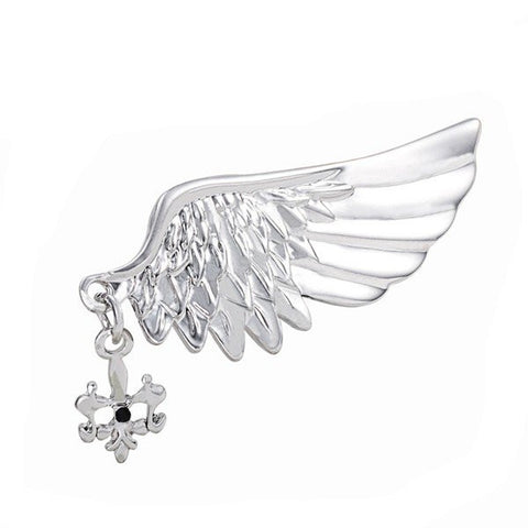 Environmental Alloy Rhinestone Suits Brooch