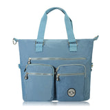 Women Nylon Shoulder Bag Waterproof Handbag Casual Large Capacity Crossbody Bag