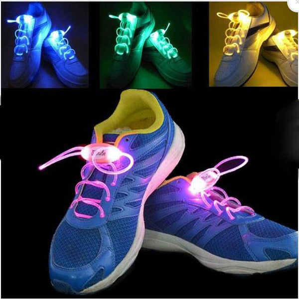 4th Generation LED Glowing Shoelaces Flash Shoelaces Shoe Strap Outdoor Dance Party Supplies