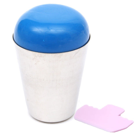 Soft Silicone Professional Round Nail Art Stamper Tool Scraper Manicure Tool