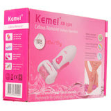 Kemei KM-2500 Electric Waterproof Feet Dead Skin Removal Heel Cuticles Washable Callous Remover