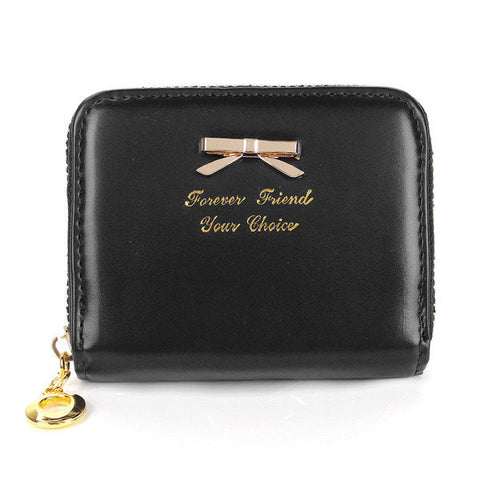 Fashion Women Butterfly Pattern Short Wallet