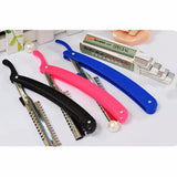 Eyebrow Shaping Trimmer Eye Makeup Kit 10Pcs Blade With 1 Holder