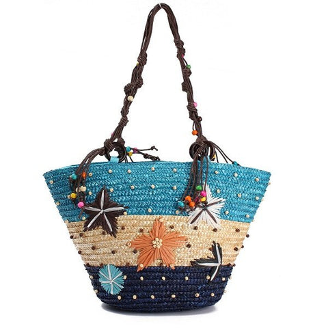 Beautiful New Arrival Summer Beach Straw Shoulder Bag Hobo Bag - shechoic.com