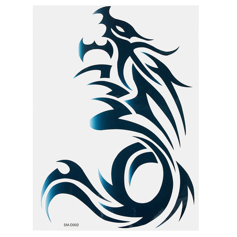 Dragon Totem Tattoo Sticker Decal Temporary Arm Shoulder Body Art
