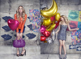 18inch Foil Helium Balloons Round Shape For Parties Celebration