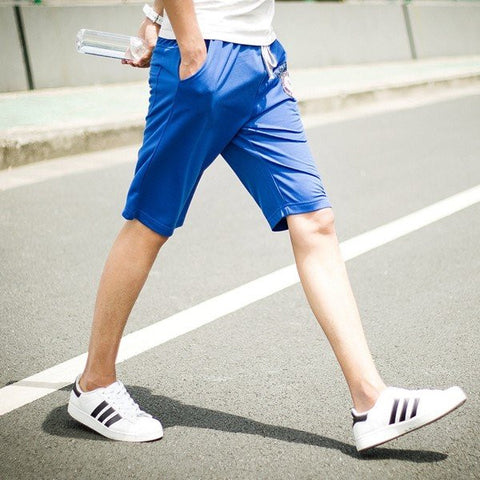 Men's Spring Summer Loose Bermudas Sports Running Joggers Gym Shorts Leisure Fifth Shorts