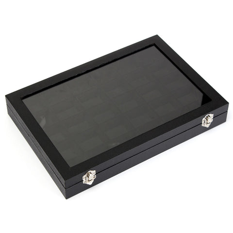 30 Grids Tray Storage Necklaces Earrings Jewelry Box