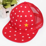Boys Kids Adjustable Baseball Hip-Hop Cap Little Star Flat Hat