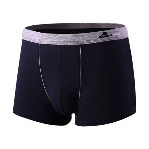 Breathable Modal U convex Pouch Boxers Casual Plus Size Underwear For Men