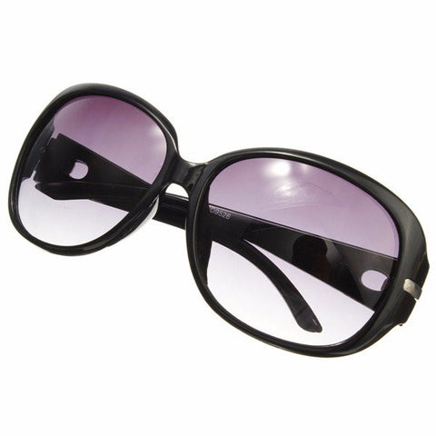 Women Elegant Sunglasses Gradient Metal Crystal Decoration Sun Glasses Eyewear