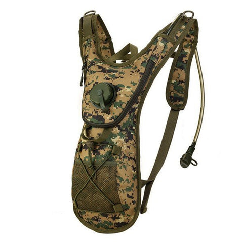 2.5L Hydration Tactical Backpack Outdoor Sports Cycling Travel Bladders Shoulders Bag - shechoic.com