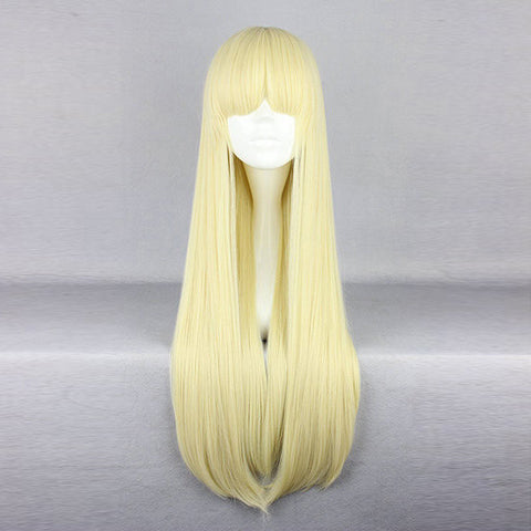 Harajuku Full Bang Long Straight Synthetic Fiber Cosplay Wig Anime Costume Hair
