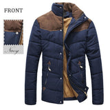 Men's Winter Coat Outdoor Thick Warm Casual Cotton-padded Jacket