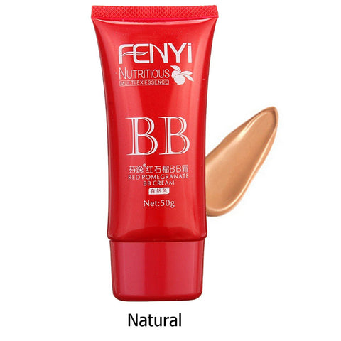Nutritious Red Pomegranate BB Cream Concealer Foundation Long-lasting Facial Makeup