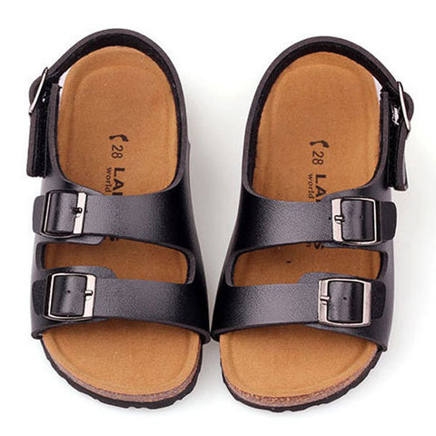 Children Cork Roman Shoes Boys Girls Casual Sandals Kids Summer Beach Sandal