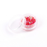 12 Colors Flash Glitter Heart Shape Nail Art Sticker Decoration