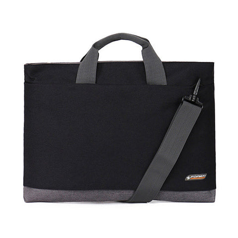 4 Color Waterproof High-Capacity Laptop Portable Shoulder Business Bag - shechoic.com