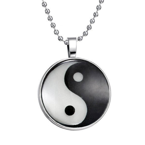 Yin Yang Pendant Luminous Necklace