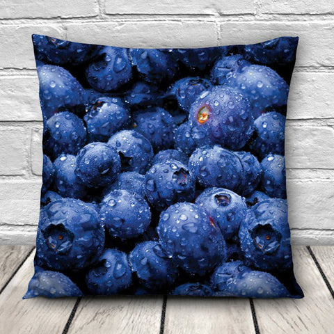 3D Sweet Food Patterns Throw Pillow Case Home Sofa Car Waist Cushion Cover