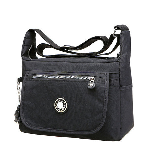 Women Men Waterproof Nylon Casual Shoulder Bags Crossbody Bags