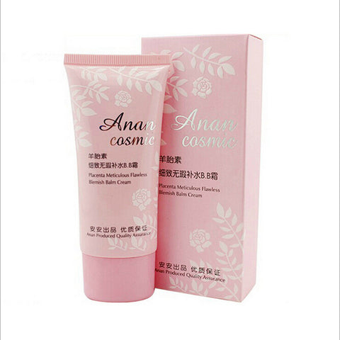 60g Anan Placenta BB Cream Meticulous Flawless Concealer Blemish Balm
