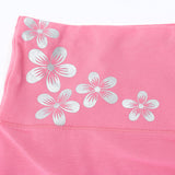 M-2XL Women Floral Cotton Seamless Panties High Waist Abdomen Control Underwear