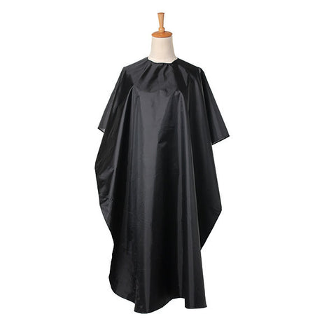Black Waterproof Salon Barber Hairdressing Hairdresser Hair Cut Gown Cape Cloth