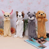 Dog Pencial Case Creative Dog Bags Cartoon Plush Childrens Small Bag Soft Toy