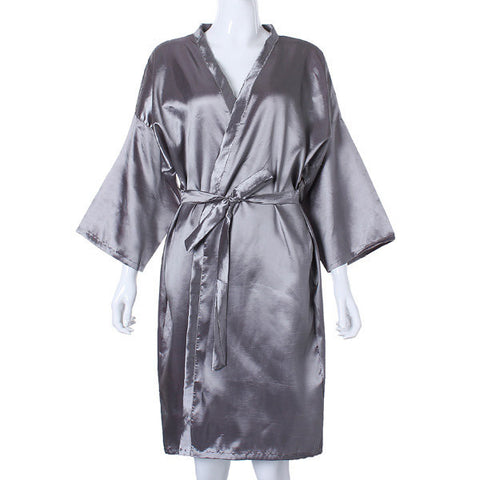 Waterproof Hair Cutting Salon Hairdressing Gown Robe Polyester Fiber