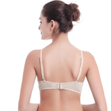 Women Sexy Silk-like Wireless Thin Bra Breathable Pure Color Bras