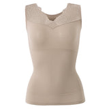 Sexy Seamless Ultrathin Belly Control Shapewear V Neck Vest Shapewear For Women