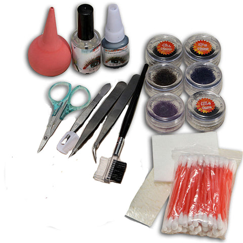 Professional Makeup False Fake Eyelash Eye Lashes Extension Cosmetic Set Kit