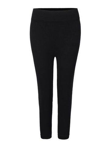 2XL-3XL Women Modal Stretch Breathable Leggings High Waist Soft Leggings - shechoic.com