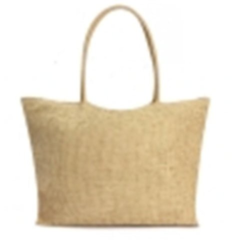Casual Beach Wave Straw Shoulder Bag
