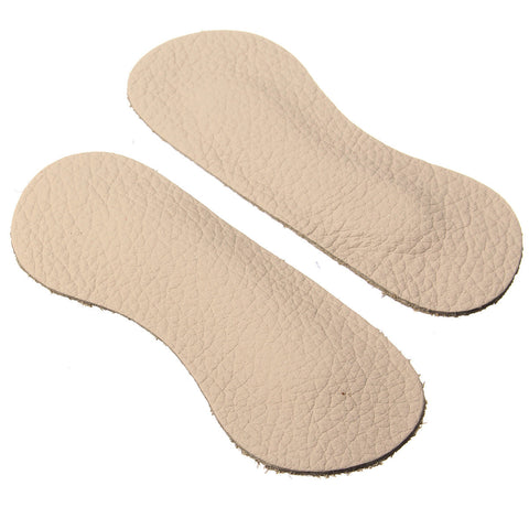 1 Pair Pigskin Leather Heel Protector Shoe Pad Cushions Foot Care
