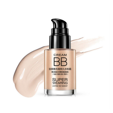 30ml Flawless Oil-control BB Cream Long-Lasting Waterproof Moisturizing Foundation