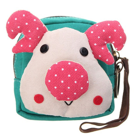 Cute Deer Shape Women Canvas Mini Bag