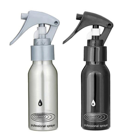 100ML Aluminum Watering Spray Sprayer Bottle Hairdressing Tool