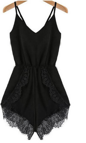 Cute Fashion Lace Hot Jumpsuit