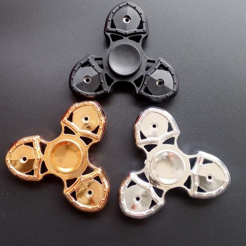 Tri-Spinner Fidget Toy Plastic EDC Hand Spinner For Autism and ADHD,fidget spinner