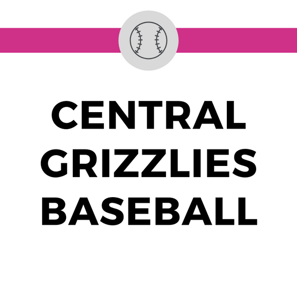 Central Grizzlies Baseball