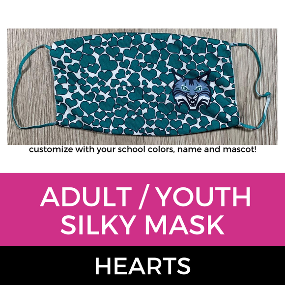 Silky Mask Hearts