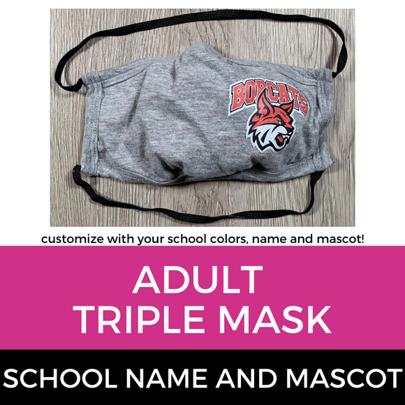 Red Bank Triple Mask