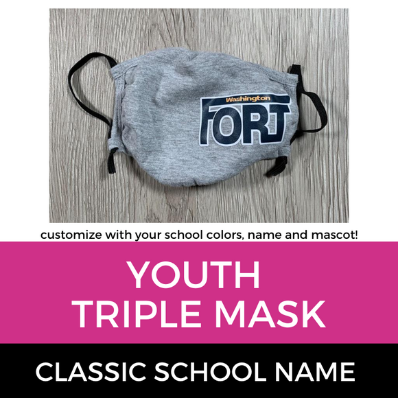 Fort Washington Triple Mask