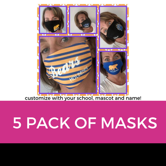 Mask 5 Pack
